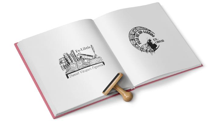 Copymarcaxe sellos impresi n digital copister a - Ex libris personalizados ...